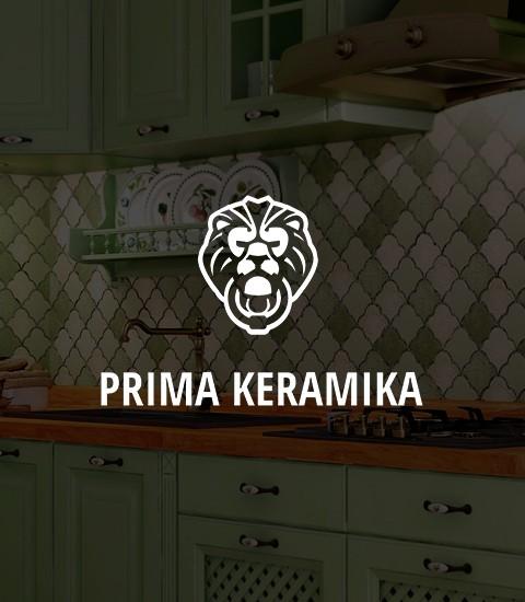 Izrada sajta Primacaramika - screenshot